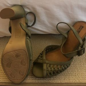Army green, Mossimo Supply, never been worn heels.